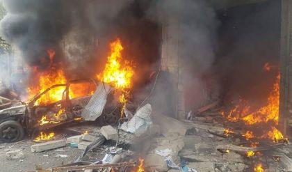 قتلى وجرحى بانفجار سيارة مفخخة في أعزاز شمال حلب
