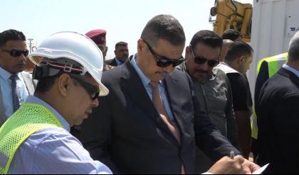 وزير الدفاع يعلن إنشاء أكبر قاعدة بحرية عسكرية في البصرة
