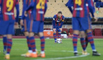 إيقاف ميسي لمباراتين بسبب طرده في كأس السوبر الإسباني