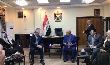 الحداد خلال لقائه بمحافظ الموصل: سنعمل جاهدين لدعم المحافظة وعودتها أفضل من السابق