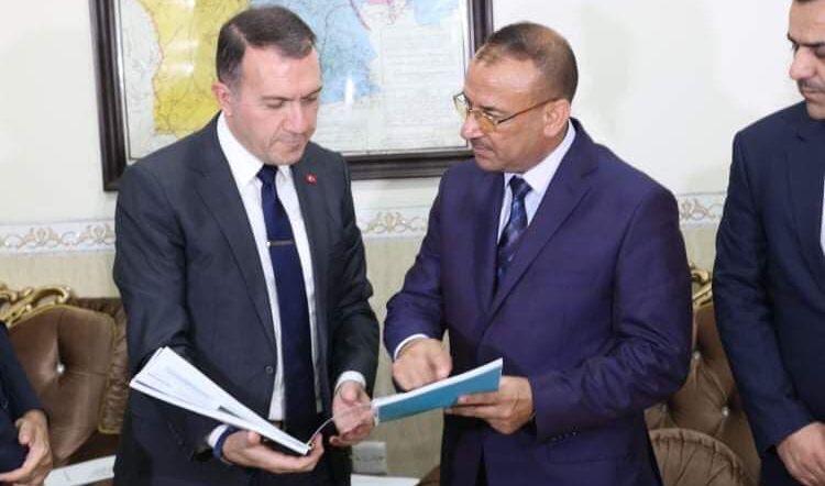 جتو للسفير التركي في العراق : الجارة تركيا لها بصمات واضحة في جهود اعادة الاستقرار والاعمار لنينوى