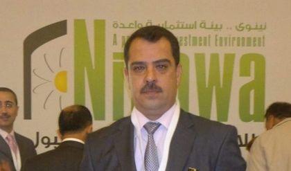 رياض الشهواني مديرا لبلدية الموصل بدلا من احمد الجبوري بامر من خلية الازمة