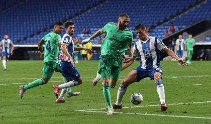ريال مدريد يهزم إسبانيول وينفرد بصدارة الليغا
