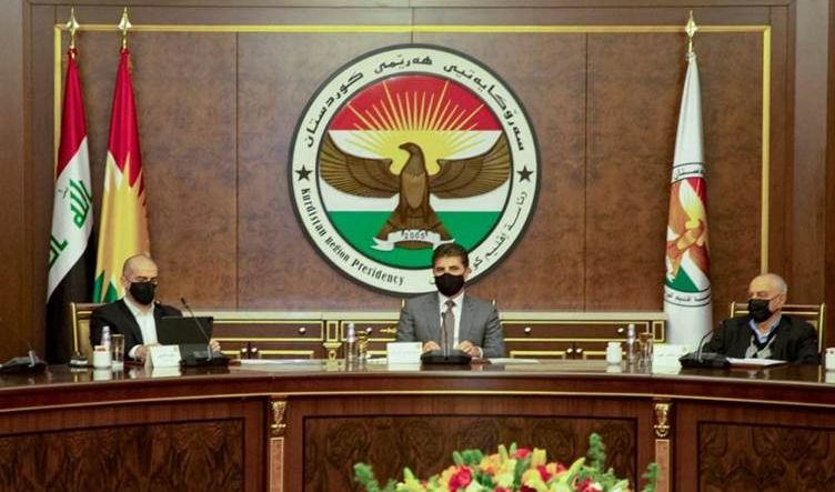 بيان اجتماع رئيس إقليم كوردستان والأطراف السياسية: مصادقة الموازنة خطوة إيجابية لتقدم العلاقات