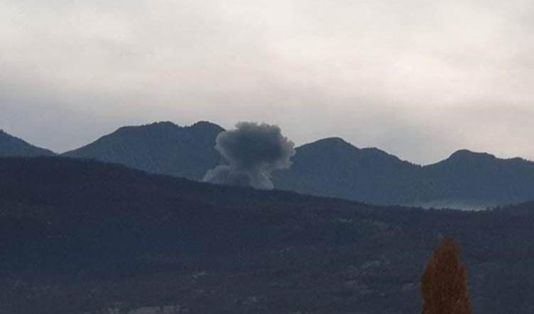 طائرات تركية تقصف محيط قريتين في دهوك