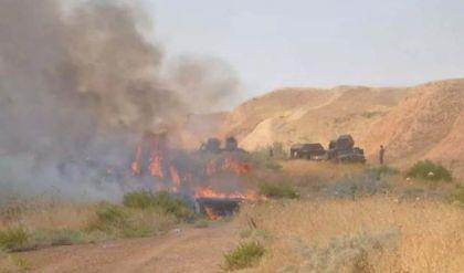 كركوك.. مقتل ثلاثة قياديين من داعش بضربة جوية