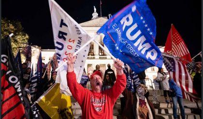 صدامات خلال تظاهر أنصار ترامب في واشنطن ضد نتيجة الانتخابات