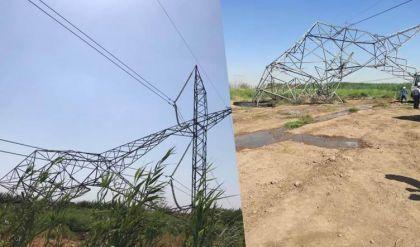 عمل تخريبي يستهدف خطوط كركوك - بيجي يسفر عن سقوط 7 أبراج ناقلة للطاقة
