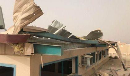 سقوط طائرة مسيرة على مدرسة في عسير السعودية