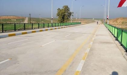 طرق وجسور نينوى تعلن اكتمال اعمار واعادة تأهيل جسري السكر والشلالات في الموصل