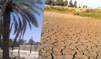 أزمة مياه حادة وسط ديالى والموارد المائية تحدد السبب