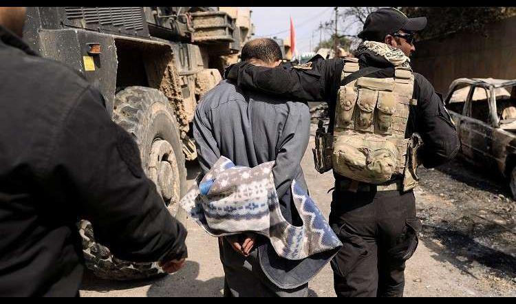 اعتقال مسؤول الغنائم بداعش في أيسر الموصل