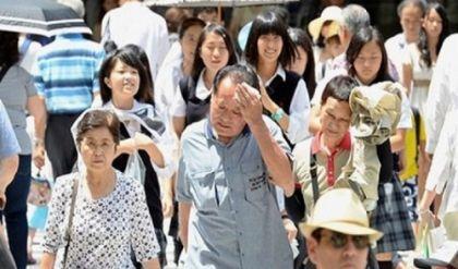 مصرع 14 يابانياً لارتفاع الحرارة الى 39 مْ