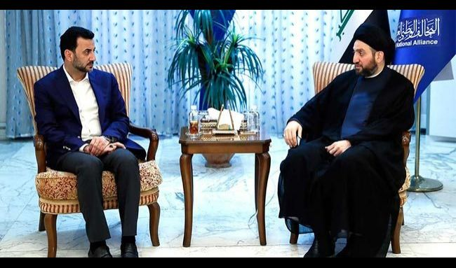 الحكيم يبحث مع وزير الشباب مابعد رفع الحظر الجزئي عن ملاعب العراق