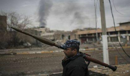 """الشرطة الاتحادية تدمّر ثلاث عجلات لعناصر """"داعش"""" قرب حي الحدباء بأيمن الموصل"""