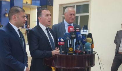 السفير التركي يكشف في اجتماع مع خلية ازمة نينوى عن قروض بخمسة مليارات دولار يخصص اغلبها للموصل
