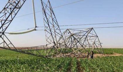 عمل تخريبي يستهدف الخط الناقل للطاقة كركوك - سنتر أربيل