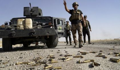 تدمير وكرين لداعش ومقتل 25 إرهابيا شمال غرب كركوك