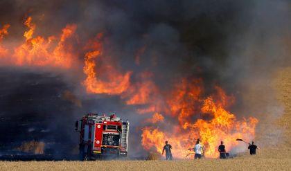 الدفاع المدني تعلن اخماد ثمانية حرائق في نينوى خلال 24 ساعة