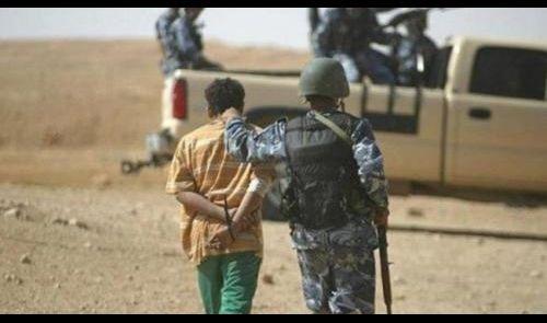 اعتقال مقاتل بديوان الجند التابع لداعش ايسر الموصل