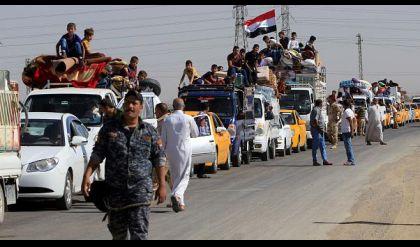 عودة 4325 الاف نازحا الى مناطقهم الاصلية في صلاح الدين ونيوى
