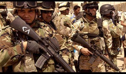 القوات الامنية تسيطر على ملعب الادارة المحلية في باب سنجار بأيمن الموصل