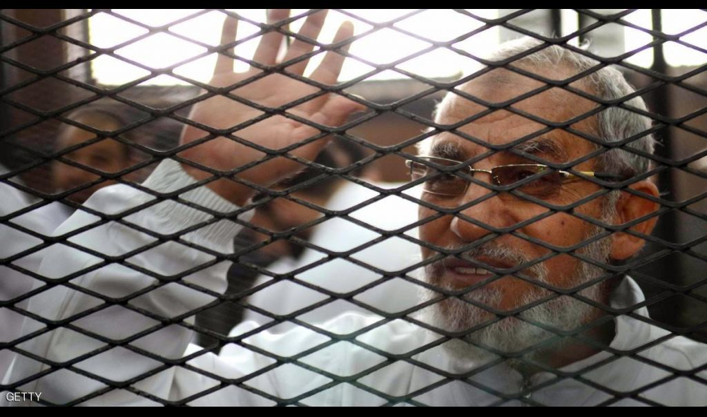 مصر.. المؤبد لمرشد الإخوان بـ