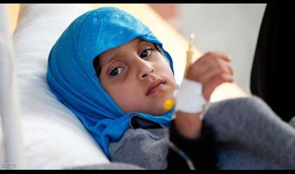 600 ألف حالة كوليرا في اليمن