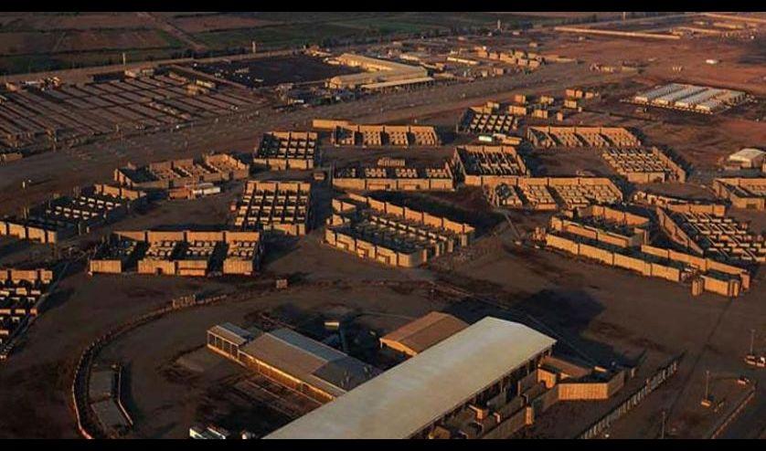 قاعدة بلد الجوية في العراق تتعرض لقصف صاروخي