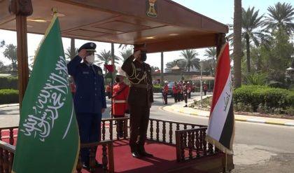 العراق والسعودية يبحثان التنسيق بينهما عسكرياً