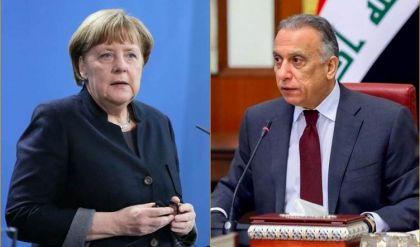 السفارة الألمانية في بغداد: ميركل ستجتمع مع الكاظمي في برلين الثلاثاء المقبل