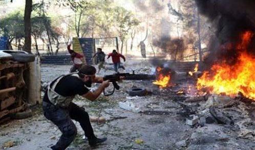 اشتباكات شمال غرب سوريا بعد اتفاق خفض التصعيد