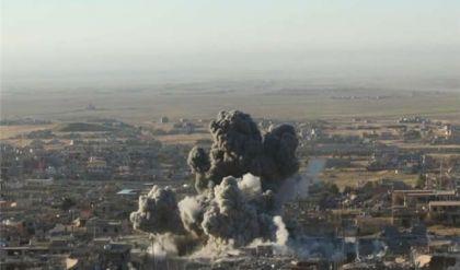 مقتل 32 داعشي بضربة جوية لطيران التحالف الدولي بايمن الموصل