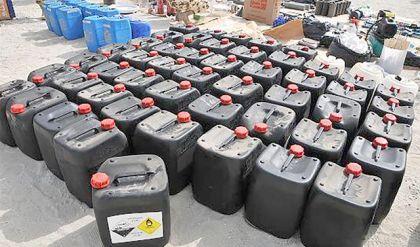 قيادة عمليات الجزيرة تعثر على نصف طن من مادة C4 و١٠٠ عبوة ناسفة قديمة