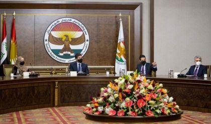 بلورة موقف موحد ورسمي من قانون العجز المالي في اجتماع لرئاسات إقليم كوردستان الثلاث