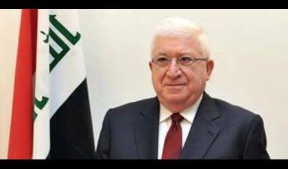 معصوم يتلقى رسالة تهنئة من أمير الكويت بمناسبة تحرير الموصل