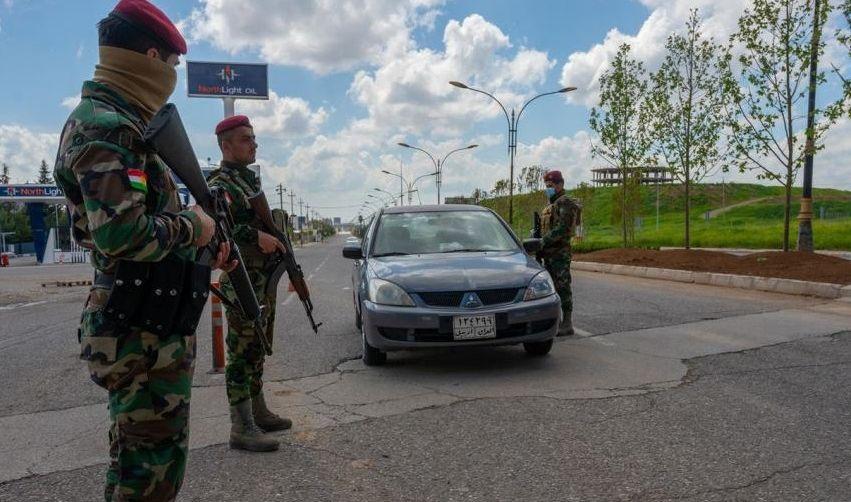 داخلية كردستان تمديد حظر التجوال بين المحافظات الى 15 حزيران المقبل