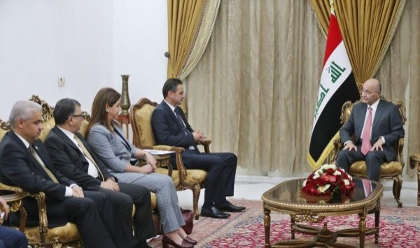 صالح يؤكد دعم الإجراءات المتخذة بشأن أي انتهاكات تمارس ضد حقوق الانسان