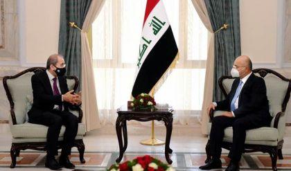 صالح والصفدي يبحثان الأوضاع على الساحتين العربية والإقليمية وتنسيق المواقف بين العراق والأردن