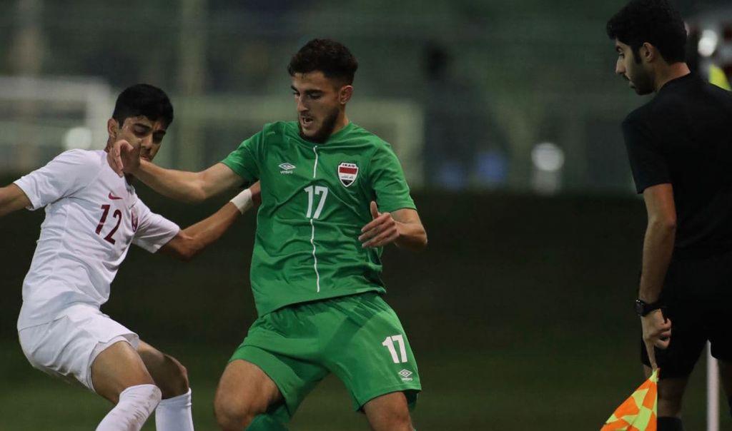 خسارة قاسية لمنتخب العراق الشبابي أمام قطر