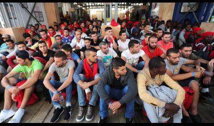 الهجرة إلى أوروبا تسجل مستوى قياسيا
