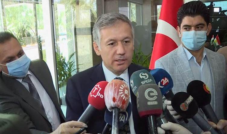 القنصل التركي في أربيل: عملياتنا العسكرية مطابقة للقوانين الدولية