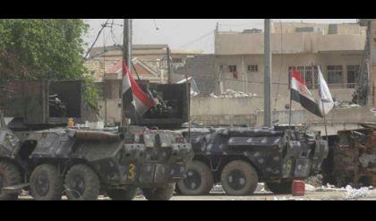 الشرطة الاتحادية تتوغل باتجاه جامع النوري في الموصل