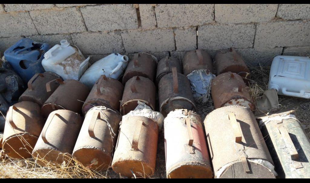 الاعلام الامني: اعتقال 4 مطلوبين بقضايا ارهابية وجنائية وضبط عبوات قمعية في صلاح الدين