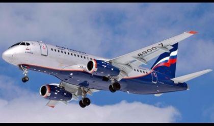 أول تحليق تجريبي لطائرة تجارية روسية الصنع
