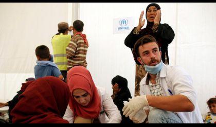 فريق حكومي يتحرى عن تسمم نازحي الموصل