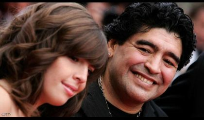 مارادونا يطالب بسجن ابنته