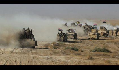 تدمير اربعة مضافات لداعش في الانبار قرب الحدود السعودية