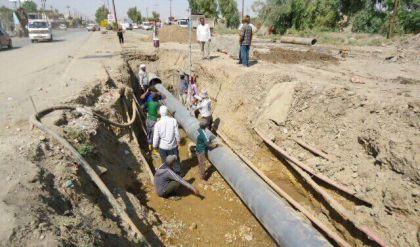 مجاري نينوى لراديو الغد: مستمرون باصلاح شبكة الصرف الصحي في الجانب الايمن بدعم من الـ undp
