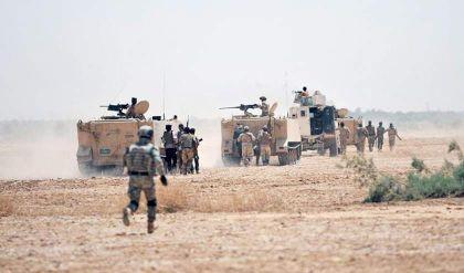 تفكيك خلية إرهابية في أحد مخيمات النازحين شرق الموصل